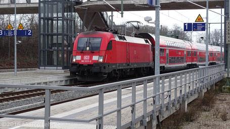Bahnhof Leipzig/Connewitz 16.01.2016