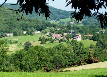 Bize village dans le Nistos - Pyrénées