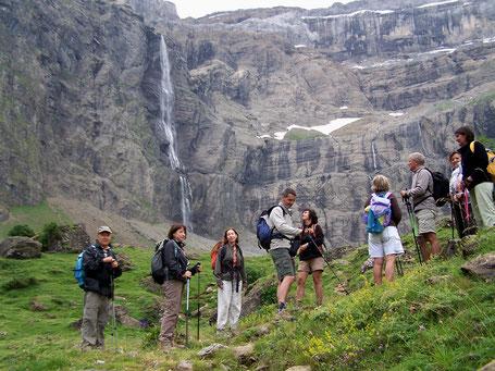 Gavarnie, la grande cascade - Pyrénées
