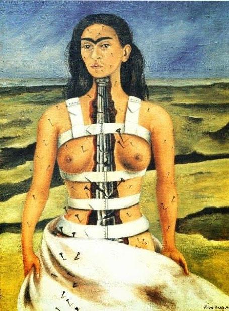 histoire des arts Frida Kahlo la colonne brisée