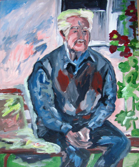 """Schmied Walter Vogel"", 2005, Acryl, 60 x 50 cm"