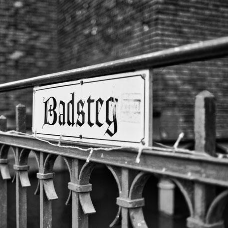 Der Badsteg in Forchheim