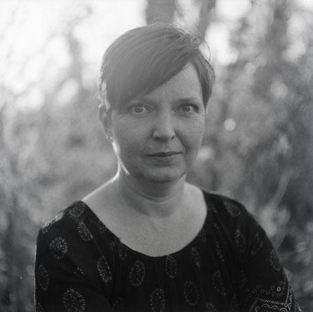 Portrait bei Gegenlicht mit Mamiya C33