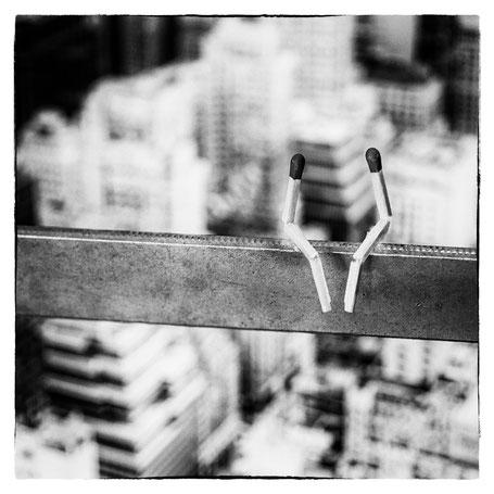Date über den Dächern New Yorks