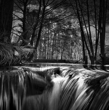 kleiner Wasserfall an der Eger