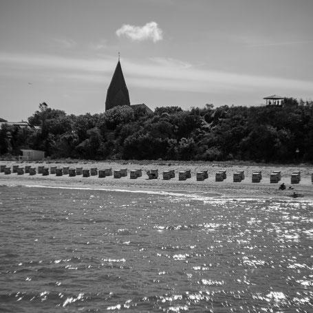 Blick auf Rerik von der Seebrücke