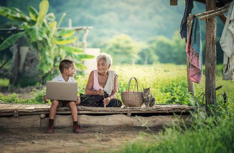 Weiber Wirtschaft : Mein Denken bestimmt mein Sein / Danke an pixabay.com für das Foto