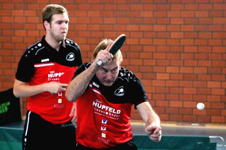 Wieder im Doppel erfolgreich: Nico Beck (links) und Kalle Simon. Vor drei Jahren bildeten die beiden eines der erfolgreichste BOL-Doppel.