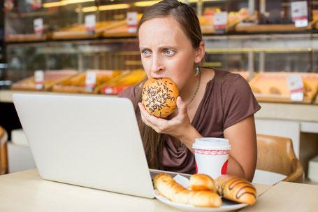 Stress führt zu Gewichtszunahme