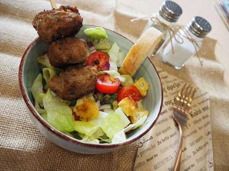 Pangaea Olivenöl aus Griechenland – Griechische Bowl mit Bifteki
