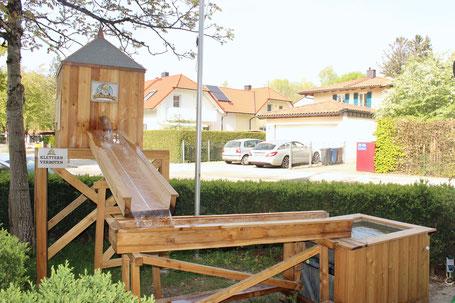 Goldrausch-Goldwaschanlage, Spielplatz, Kinder, Gold waschen., Goldwaschen, Anlage, Kinderspielplatz