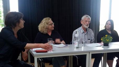 v.l.: Maria Buchwitz, Maria Winkel, Bernd Mühlbrecht, Yanica Grachenova