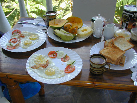 Exemple de petit-déjeuner, Marijani Holiday Resort