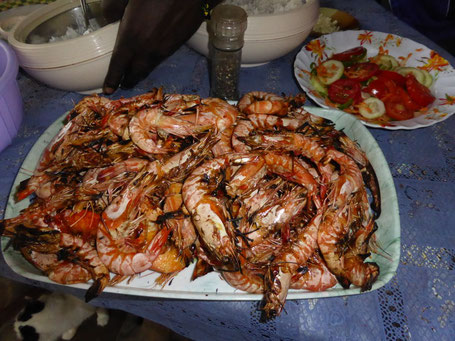 Ejemplo de mariscos, Marijani Holiday Resort