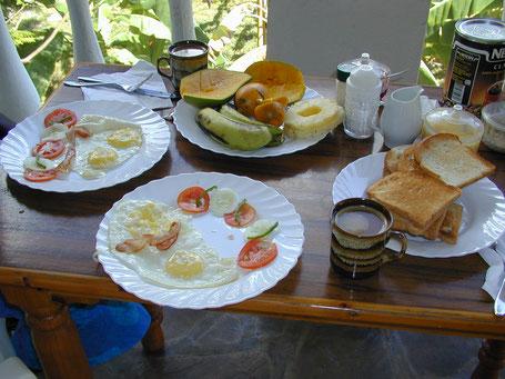 Ejemplo de desayuno, Marijani Holiday Resort