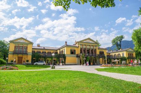 Kaiservilla von vorne in Bad Ischl