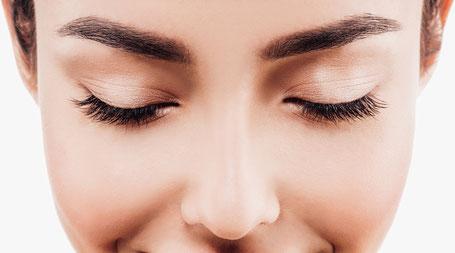 La belle Kosmetikstudio Augenbrauen Wimpern Wimpernfärben