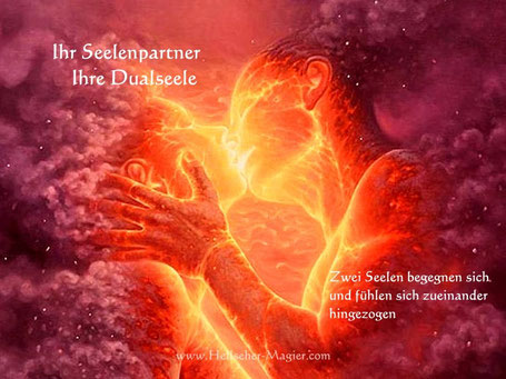 Ihr Seelenpartner / Dualseele in der Liebesmagie und Liebeszauber - Partnerrückführung