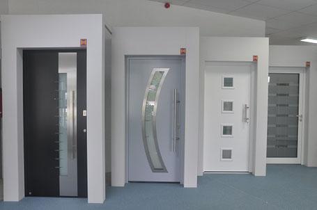 Porte d'entrée, Aluminium