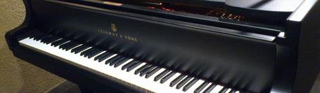 スタインウェイのグランドピアノ