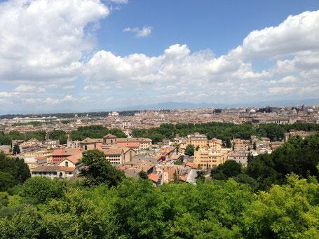 Must #3: Am Gianicolo - Aussicht über Rom