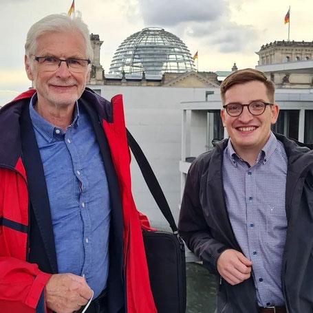 Herbert Wollmann (l.) und Robert Drews in Berlin