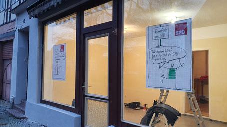 zukünftige SPD-Ansprechbar in Salzwedel, Breite Str.