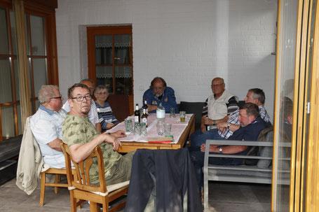 Treffen der AG60+, die sich um Interessen älterer Menschen kümmert und ihnen in der SPD ein besonderes Gewicht verleiht.
