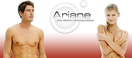 épilation a la lumiere pulsée Ariane dans votre institut de beauté de vern sur seiche