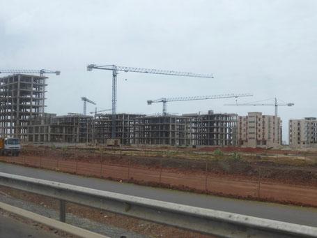 Le logement collectif est privilégié pour amortir les coûts de construction liés au sol instable