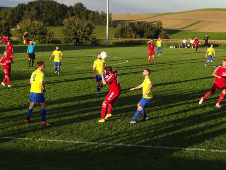 Die SF Sießen mussten sich zum Saisonauftakt der TSG Achstetten II geschlagen geben.