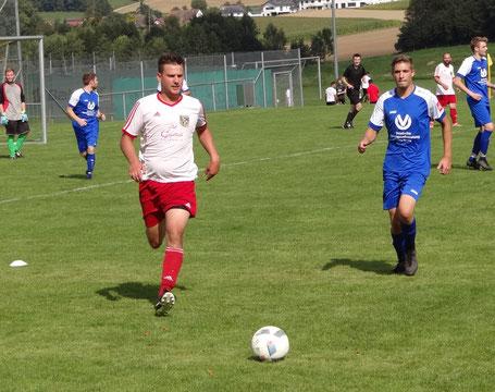 Felix Glöggler erzielte den ersten Treffer für unsere Reserve.