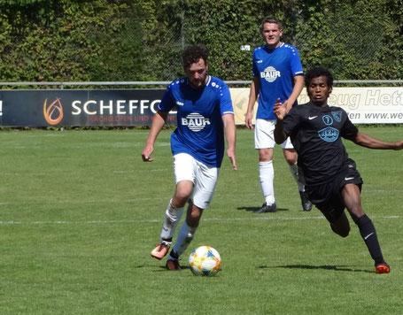 Jan Neumann zeigte eine solide Leistung im Spiel der Reserve.