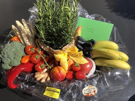 Obst-und Gemüsekorb vom Fruchtkontor Ballentin