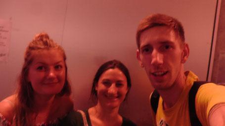 Blandine, Marthe und ich