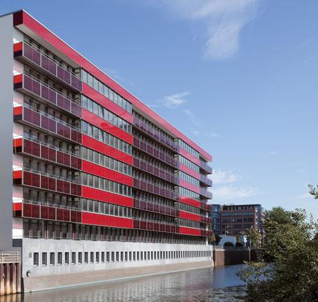 Lüddeke ReedereiAgentur new office Frankenstraße 18 Hamburg