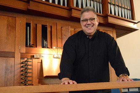 Kirchenmusikdirektor Burkhardt Zitzmann // Foto: Dekanat Gladenbach