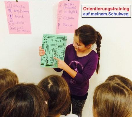 Schulweg-Training // Foto: Feuerstein