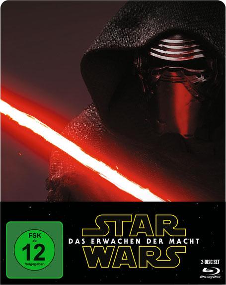 Star Wars 7 Blu-ray Steelbook - Lucasfilm - kulturmaterial