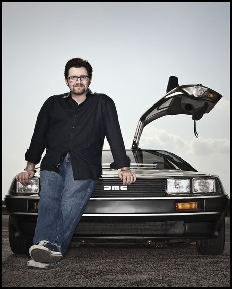 Ernest Cline - Ready Player One - Blanvalet - Foto Dan Winters - kulturmaterial