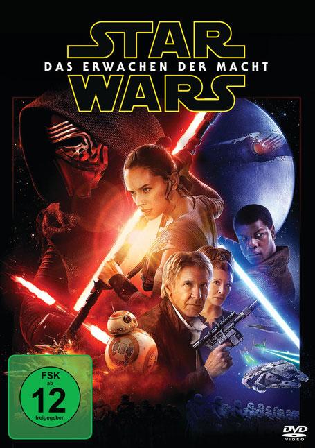 Star Wars 7 DVD - Lucasfilm - kulturmaterial