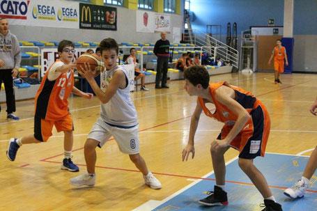 Lorenzo Fruttero in azione contro Asti
