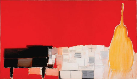 Concert de Nicolas de Stael, esquisse ou abstraction?