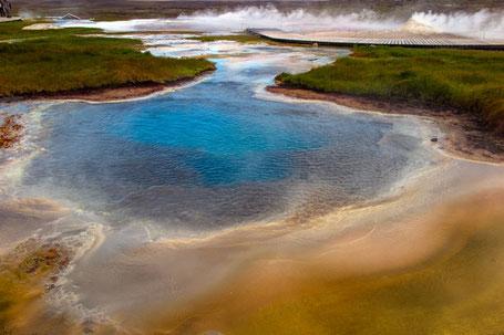 Im Geothermalgebiet von Hveravellir