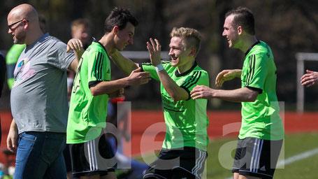 Auch Niclas Kuß, Viktor Schner und Thimo Krebs bleiben beim SCS | Foto: Deal
