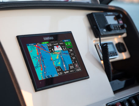 superyacht tender AIS tracking system