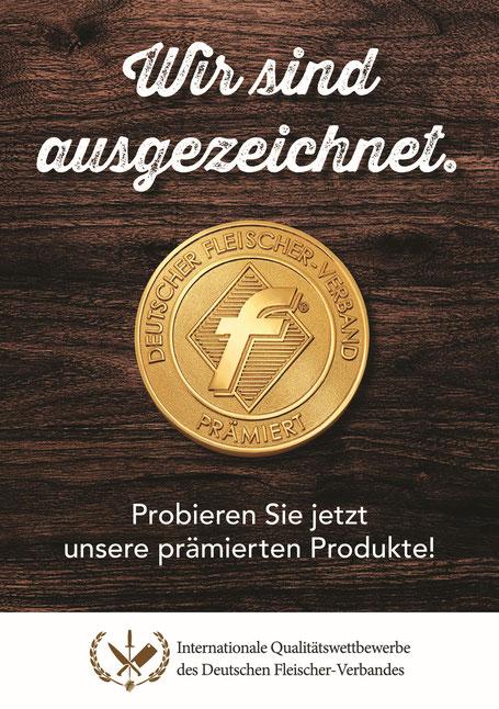 Fleischerei Bechtel - Auszeichnung Ahle Wurscht - Kartoffelwurst