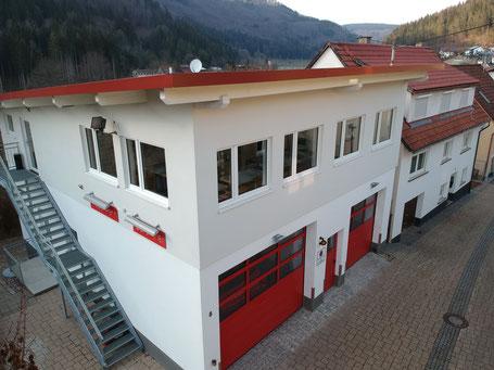 Feuerwehrhaus nach dem Umbau 2018 (heutiger Stand)