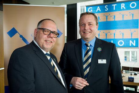 Christian Meissner und Klaus Klische auf der Gastro Vision 2016