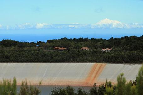 El Teide de Tenerife visto desde La Laguna de Barlovento